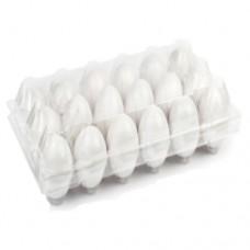 أطباق بيض بلاستيك سعة 18 بيضة