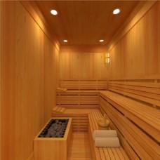 صناعة غرفة الساونا من الاخشاب